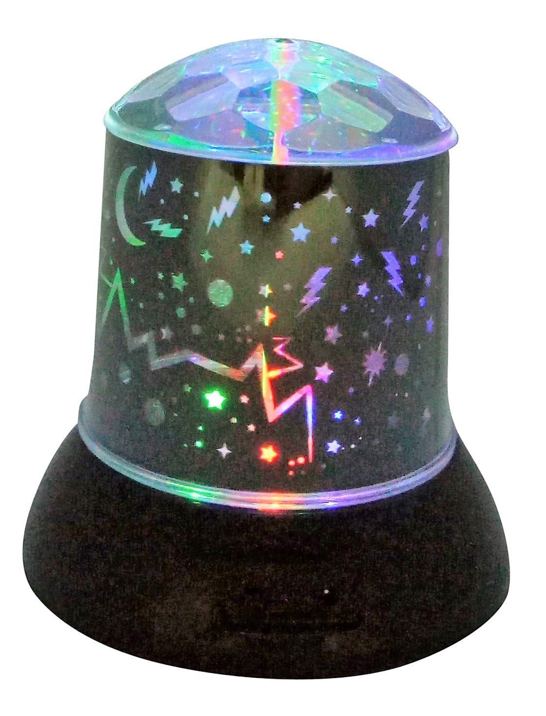 Lightahead LA-KDS-8108-1A Starlight Night Lighting Lamp Battery Operated LED Decorative Light with Different Patterns, LED Starry Night Sky Lamp