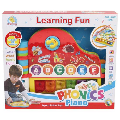 Lightahead Speech Learning machine toy with light and music in English Phonics Piano.Make Learning Fun for Kids Toddlers