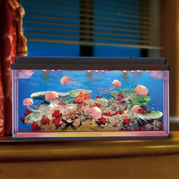 Lightahead® Artificial Jellyfish Aquarium with Bubbles and Multi Colored LED (Big size)