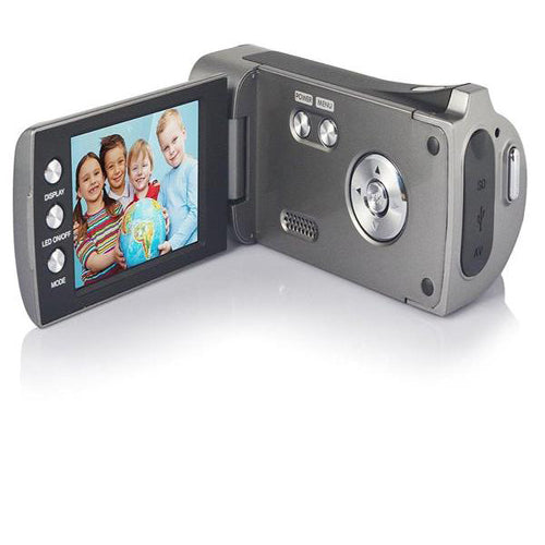 Lightahead DV Series Digital Video Camera with 4x Digital Zoom, 2.7-Inch LCD With Hand Strap & Cloth Bag