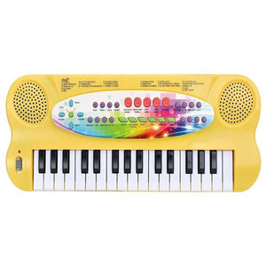 Lightahead 32-key Electronic Organ Keyboard Piano Portable Multi-function Kids Children Educational Toy - Yellow