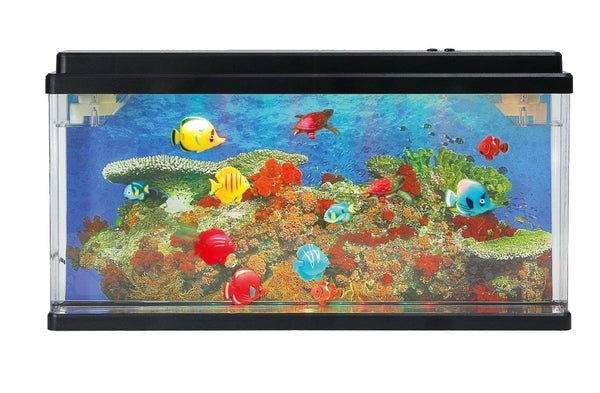 Lightahead® Artificial Marine Aquarium with Multi Colored LED (Big size)