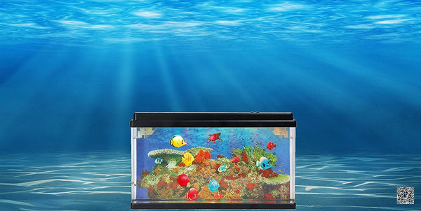 Top Cover with motor for Lightahead Artificial Marine Aquarium with Multi Colored LED (Big size)