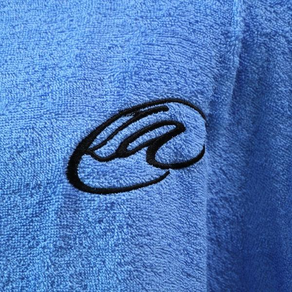 Lightahead Cotton Surf Beach Hooded Poncho Changing Bath Robe Towel with Pocket