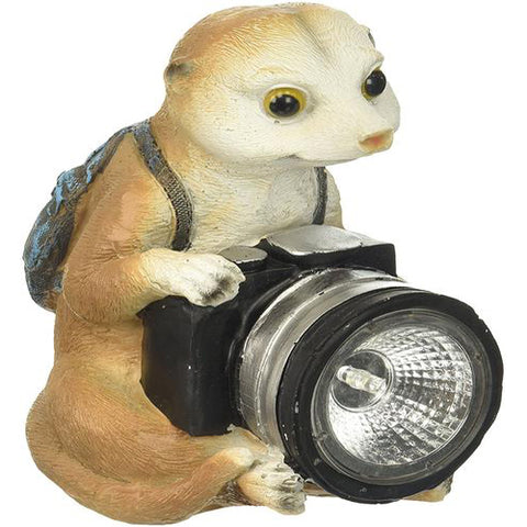Lightahead LA-HR17013 Solar Powered Animal Light Chipmunk Light for Christmas Holiday Decoration Garden Path lamp