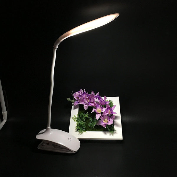 Lightahead Eye Friendly 16 LED Reading Light USB Powered Touch Control Desk Lamp Gooseneck
