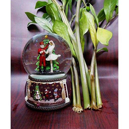 Lightahead NUTCRACKER musical water Snow ball playing tune Nutcracker Suite