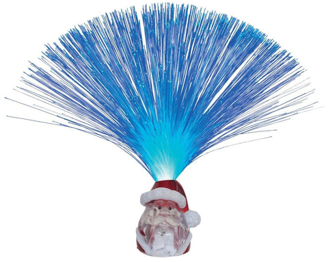 Lightahead Fiber Optic LED Light with Santa Claus Base