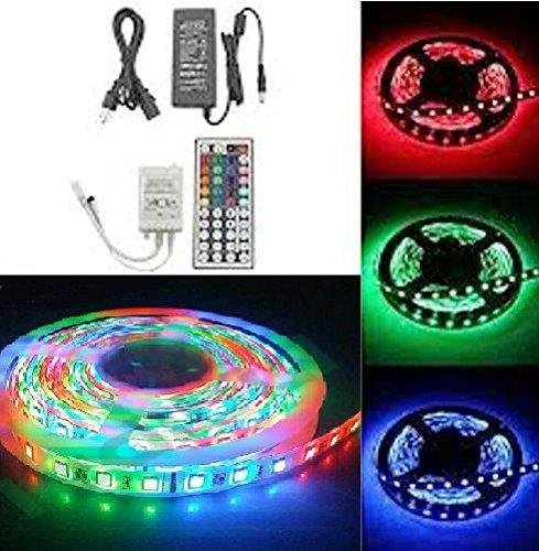 Lightahead IP65 300 LED Water Resistant Flexible Strip Light - 16.4 feet and with Remote