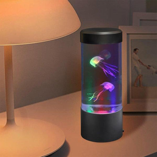 Lightahead LED Mini Desktop Jellyfish Lamp