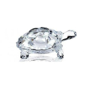 Lightahead CHINESE FENG SHUI TORTOISE TURTLE GLASS STATUE LUCKY GIFT OF GOOD HEALTH