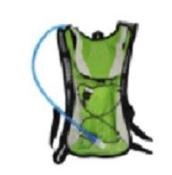 Lightahead 2L Hydration Backpack with Water Rucksack Bladder Bag for Hiking Cycling Camping (GREEN)