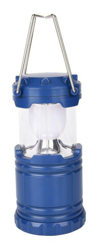 Lightahead Portable Outdoor LED Camping Lantern Equipment - Great for Emergency, Tent Light(Blue)