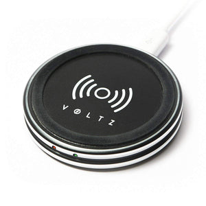 Voltz Wireless Charging Pad with USB Charger for Standard QI Enabled device-Marketed by Lightahead