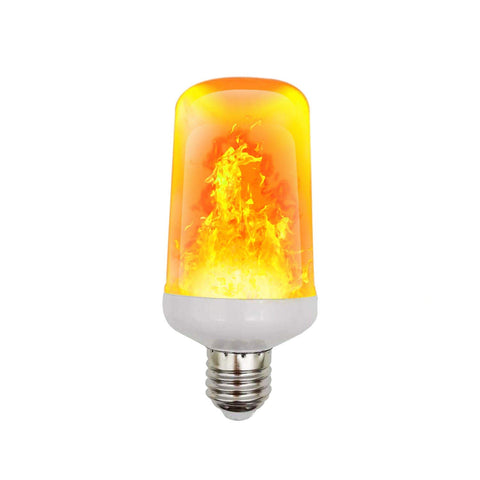 Lightahead LED Fire Flame Effect Light Bulb Realistic Flickering Burning for Halloween,Christmas,Home and Garden (1 Pack)
