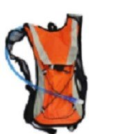 Lightahead 2L Hydration Backpack with Water Rucksack Bladder Bag for Running Hiking Camping (ORANGE)