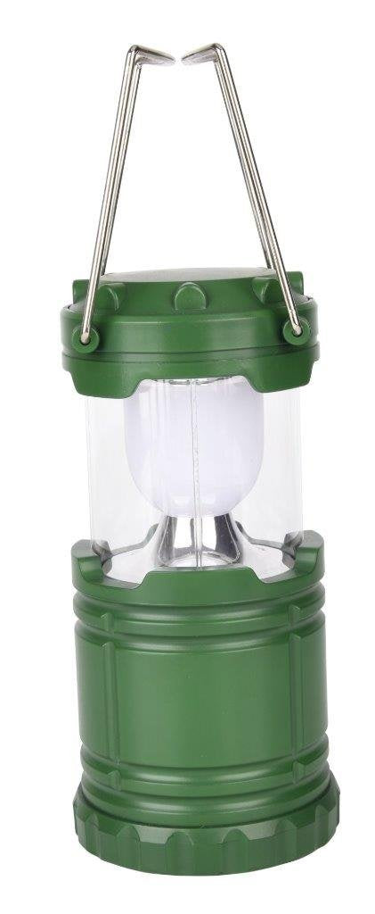 Lightahead Portable Outdoor LED Camping Lantern Equipment - Great for Emergency, Tent Light(Green)