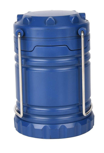 Lightahead Portable Outdoor LED Camping Lantern Equipment with Battery - Great for Emergency (Blue)