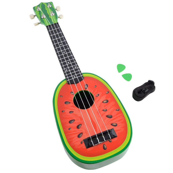 Lightahead® Watermelon shaped Ukulele Guitar 23 Inch Classical Nylon String