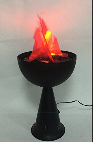 Lightahead Artifical LED Fire Flame Light Realistic Fire Effect Torch.