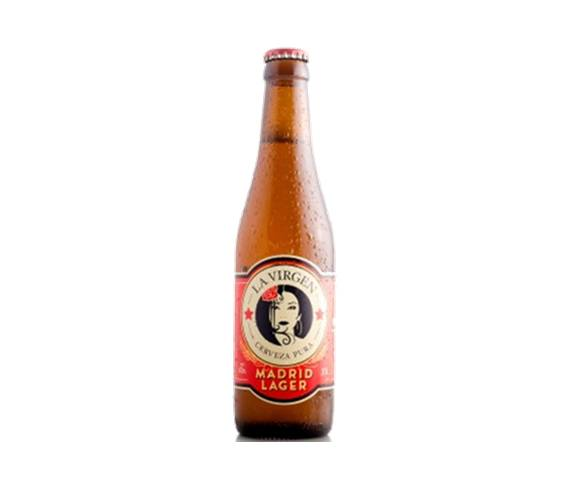 La Virgen Madrid Lager 33cl