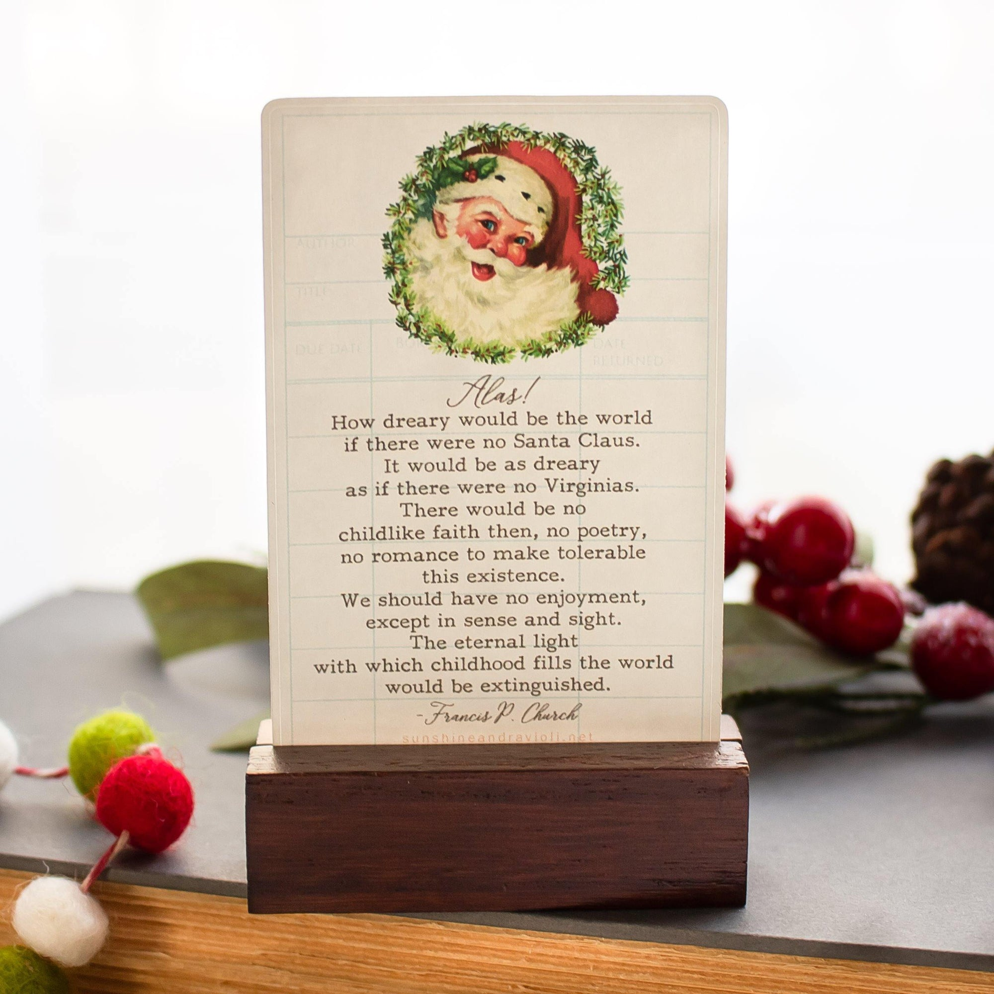 Christmas Quote Stickers - Set of 10 Sunshine and Ravioli