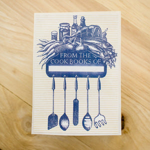 Cookbook Bookplates - set of 10 bookplates Sunshine and Ravioli