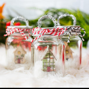 Farmhouse Miniature Mason Jar Christmas Ornament Christmas ornaments Sunshine and Ravioli
