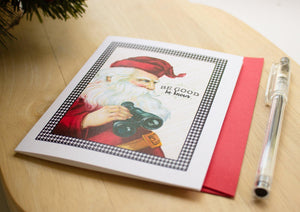 Funny Santa Claus Christmas Greeting Card Christmas cards Sunshine and Ravioli