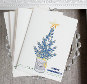 Texas Bluebonnet Christmas Card Set Christmas cards Sunshine and Ravioli