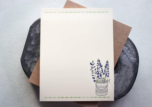 Texas Bluebonnet Notepad notepads Sunshine and Ravioli