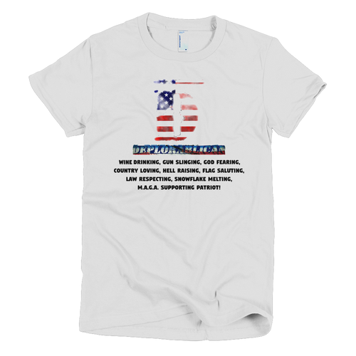 Deplorablican Womens Tee