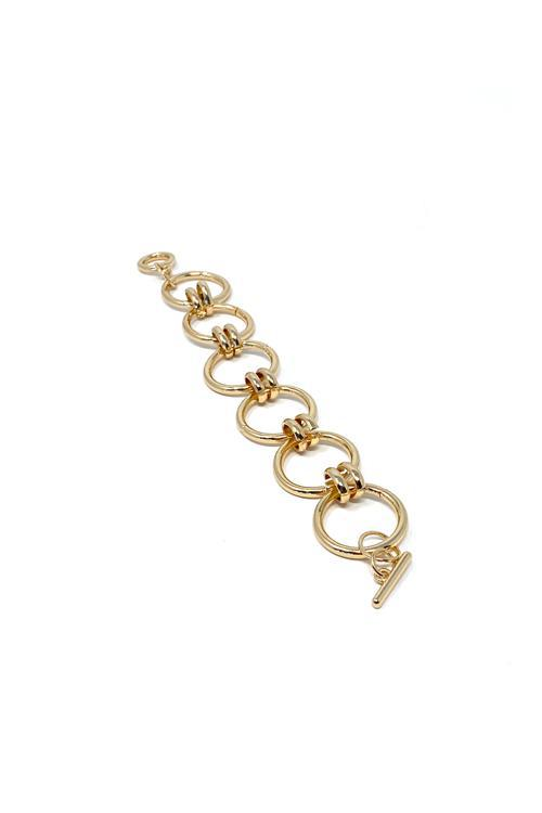Shop Madda Bracelet Gold Hoops