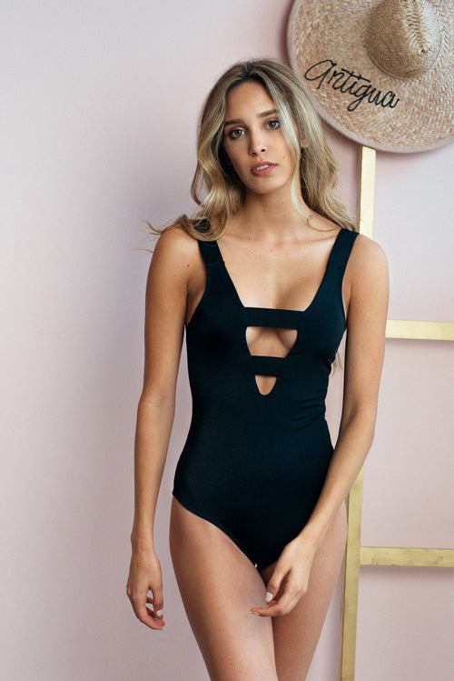 Catalina One Piece Swimsuit Black