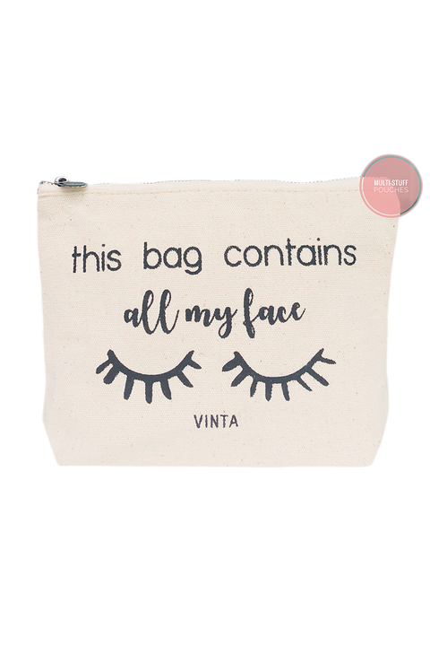 Vinta My Face Multi Stuff Pouch
