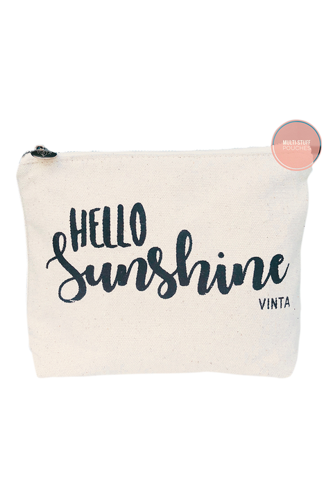 Vinta Hello Sunshine Multi Stuff Pouch