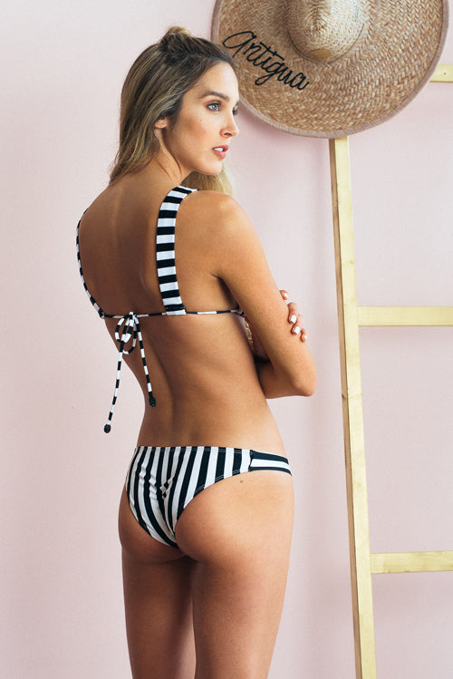 Carlota Bikini Bottom Stripes