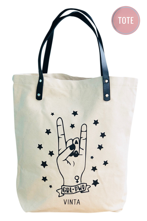 Vinta Girl Power Tote