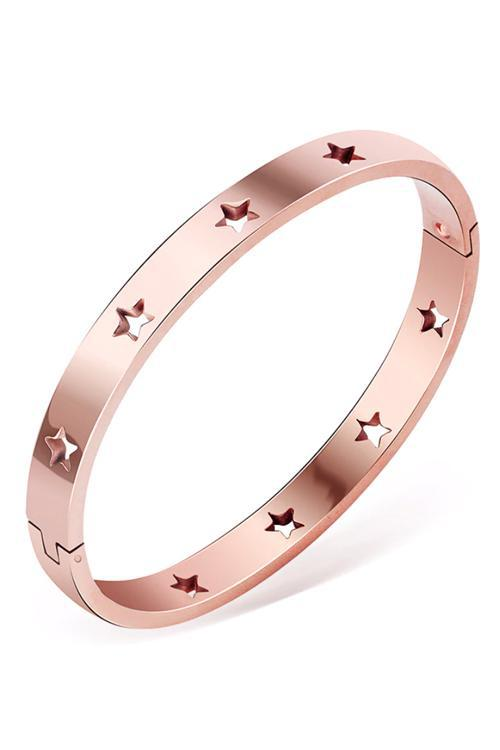 Shop Madda Bracelet Rose Gold Stars