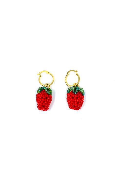 Jetlag Earrings Hoops Fruits Varios