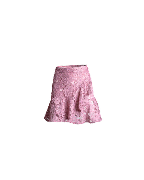 Antigua Skirt Mini Lola Light Purple Lace