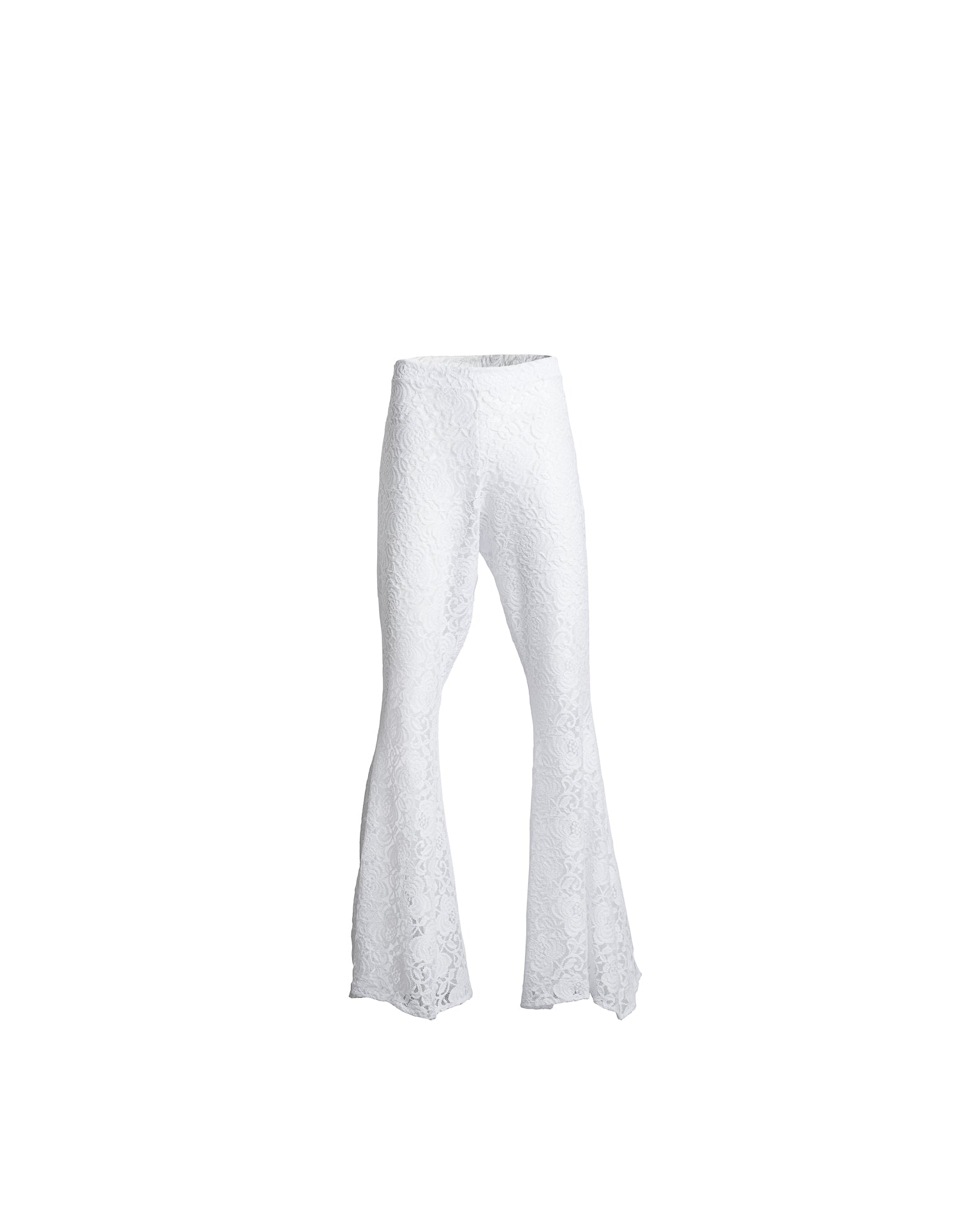 Antigua Party Pants White Lace