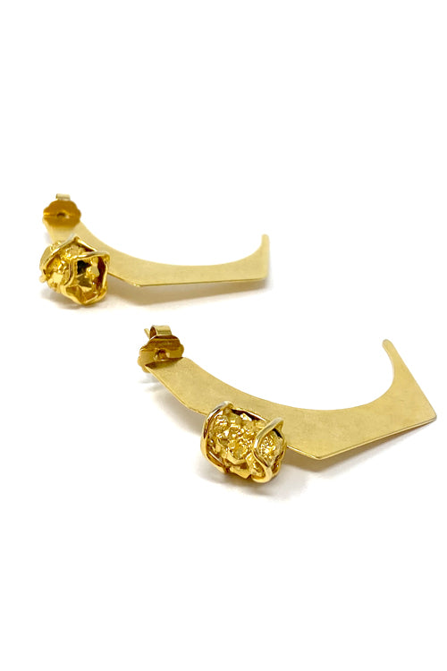 DosA2 Prisma Earrings Gold