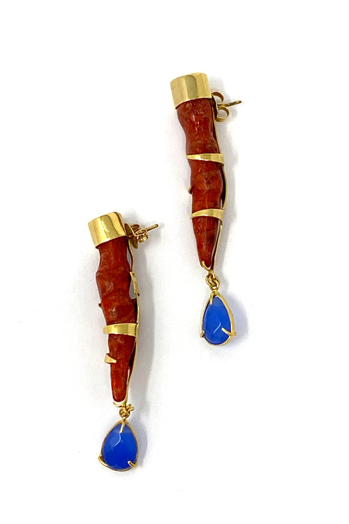 DosA2 Skualo Earrings Red