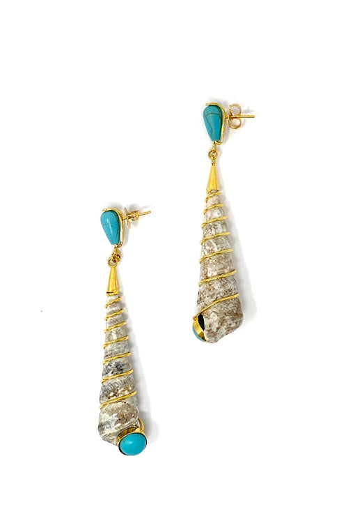 DosA2 Skualo Earrings Turquoise