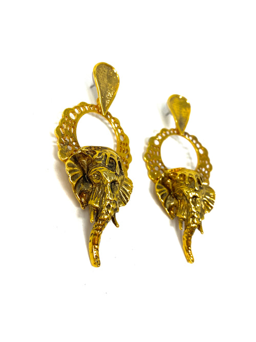 VG Earrings Elephant Big