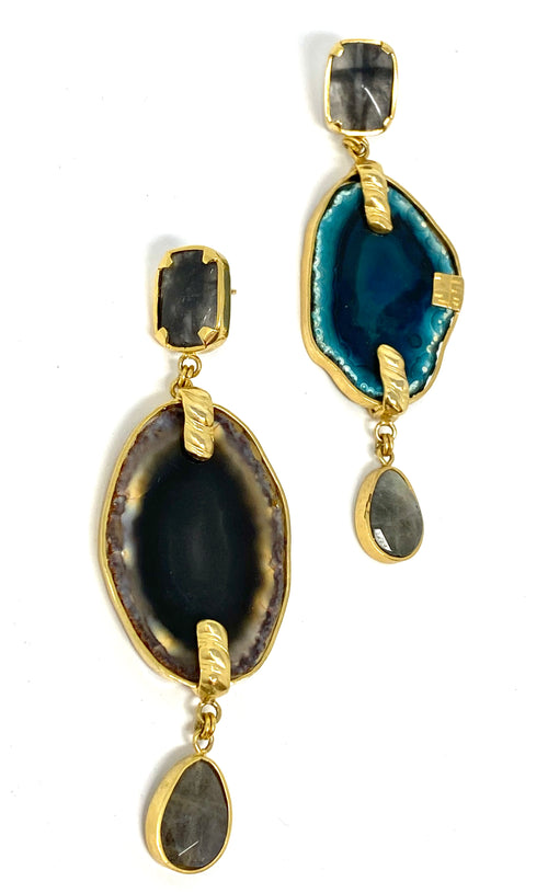 DosA2 Le Noir Earrings