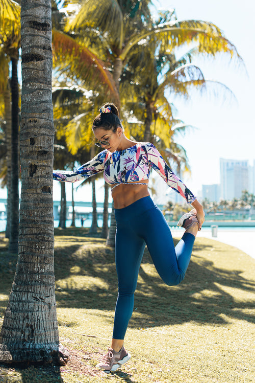 Antigua Leggings Royal Blue