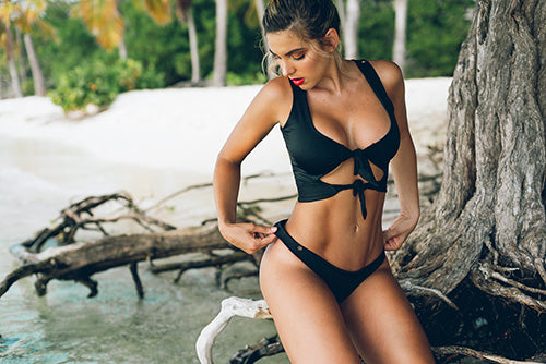 Betty Bikini Top Black