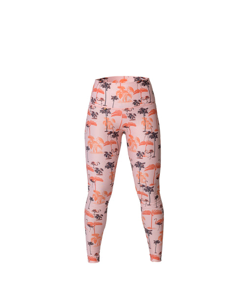 Antigua Leggings Flamingos Cherry